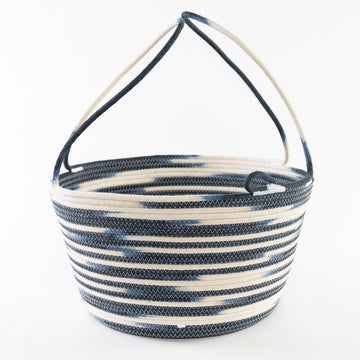Dip Dyed Harvest Basket