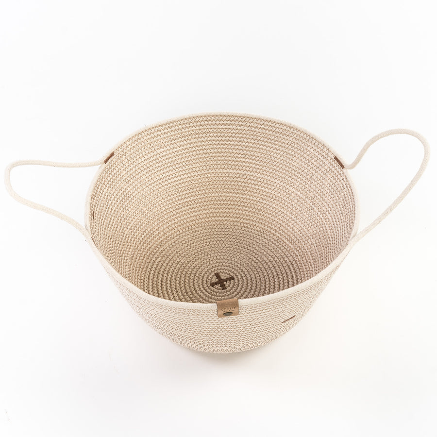 Rope Harvest Baskets
