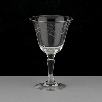 Etched Port Glasses
