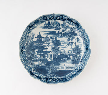 Bowl - Japanese blue/white