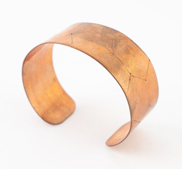 Copper Hexagon Vintage Bracelet