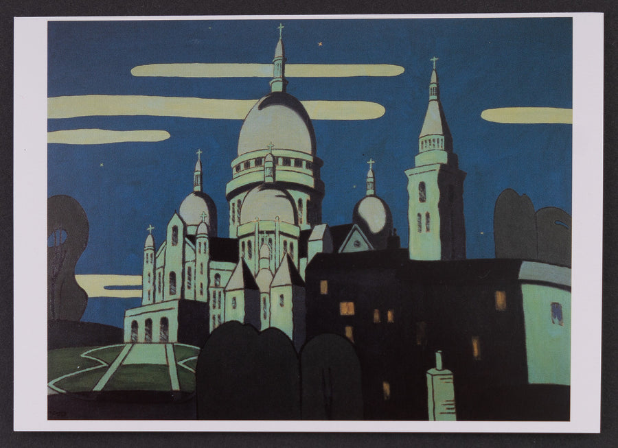 Greeting Card - Sacre Coeur
