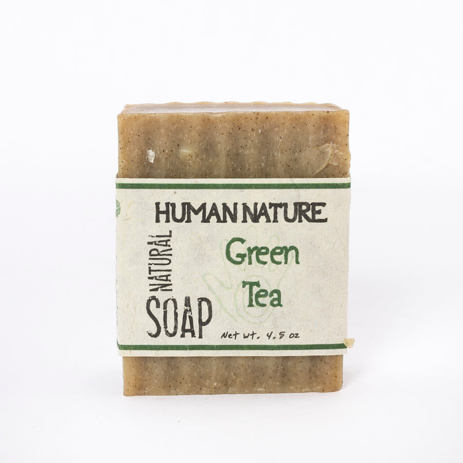 green tea essential oil soap - made in Maine - handcrafted
