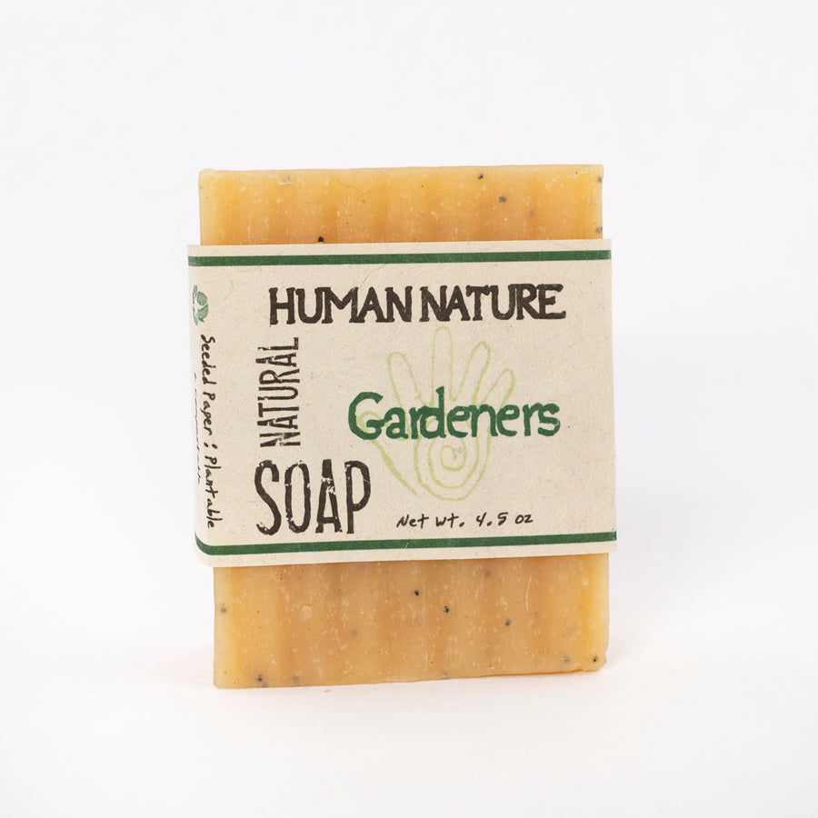 Gardeners essential oil soap - made in Maine