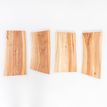 applewood cutting boards - uniquely cut handmade serving board