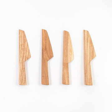 applewood cheese knives - handmade in Maine