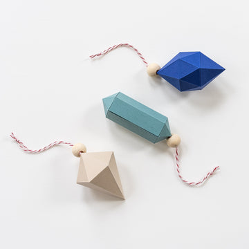 Geometric Paper Ornaments