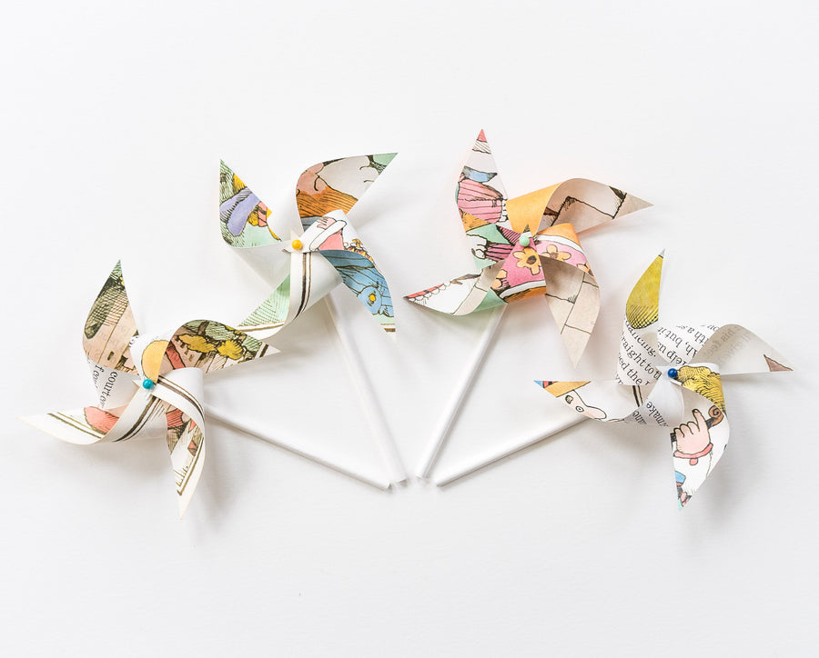Mini Storybook Pinwheels