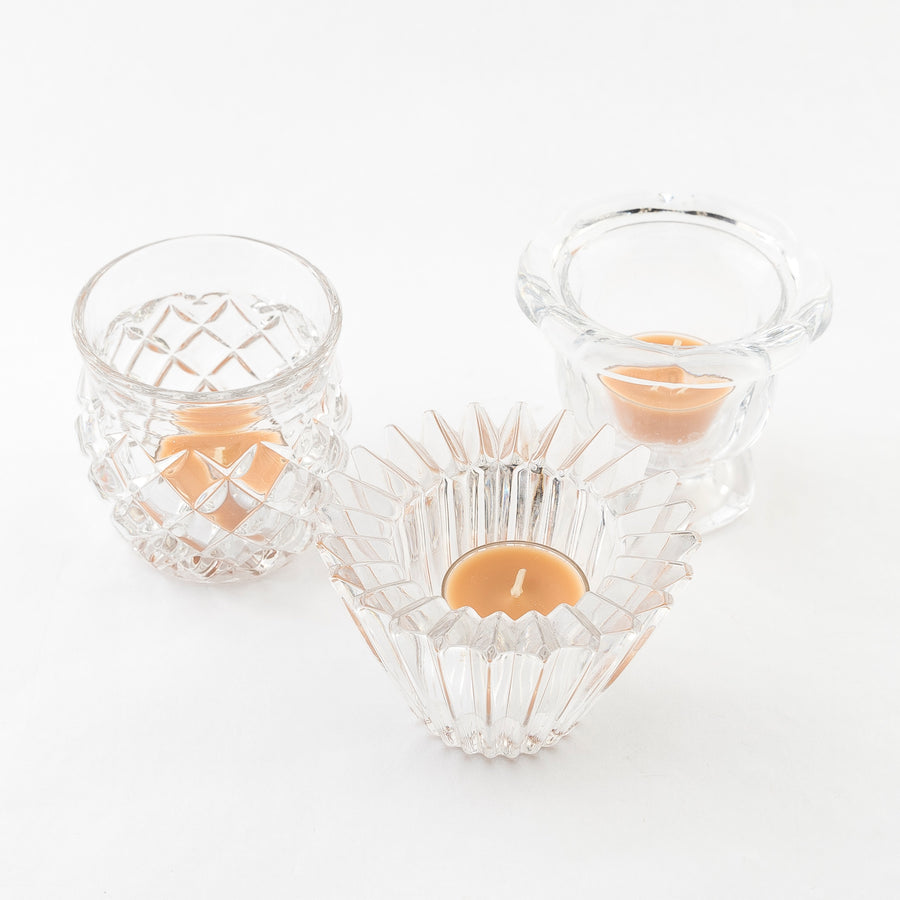 votive candle holders - home decor - vintage products