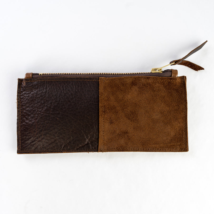 Wildwood Oyster Co. Leather Clutch