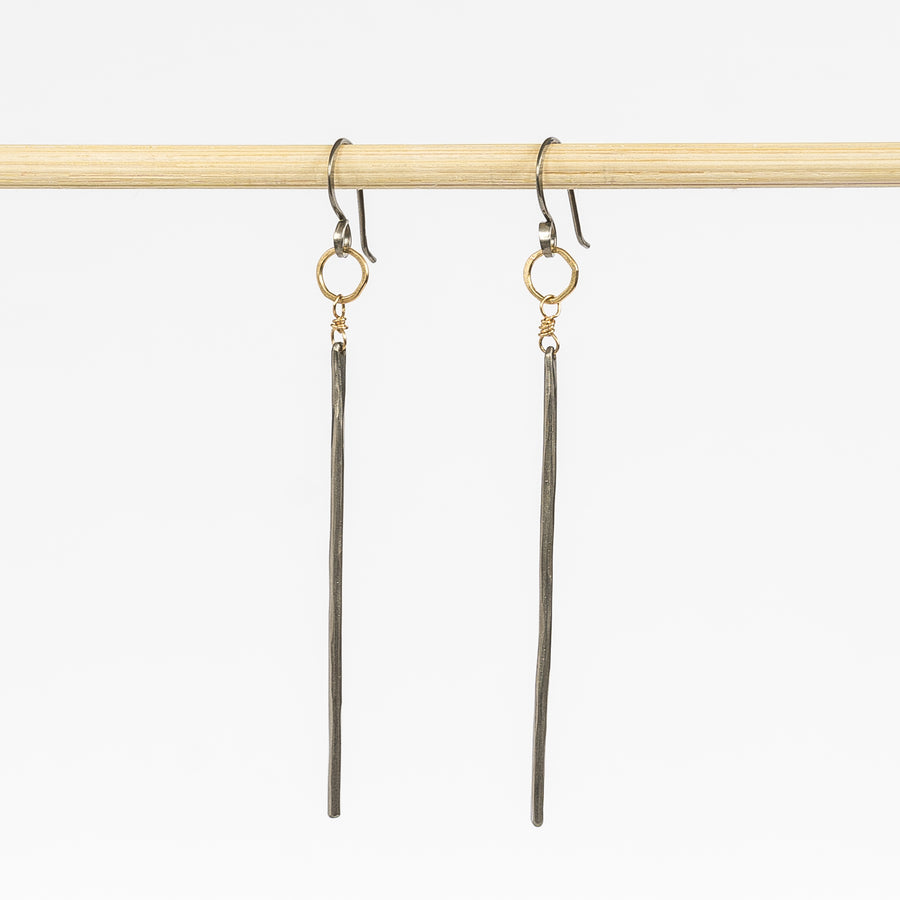 Niobium Stick Earrings