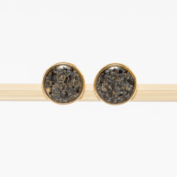 Poppy Seed Stud Earrings