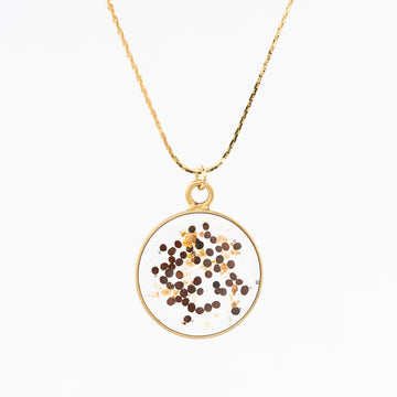 Simple Circle Pendant Necklace