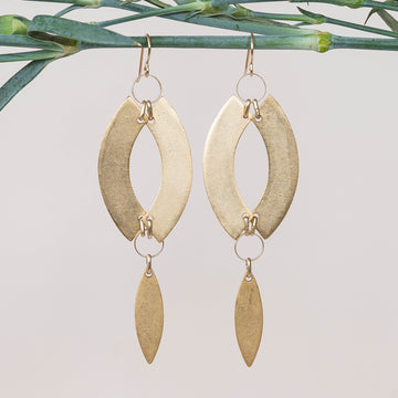 Double Curve Earrings