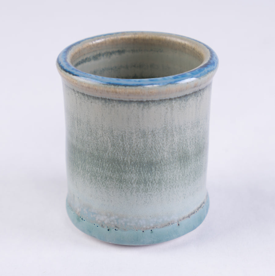 seascape shot cup - tracy adams pottery - bluff point collection