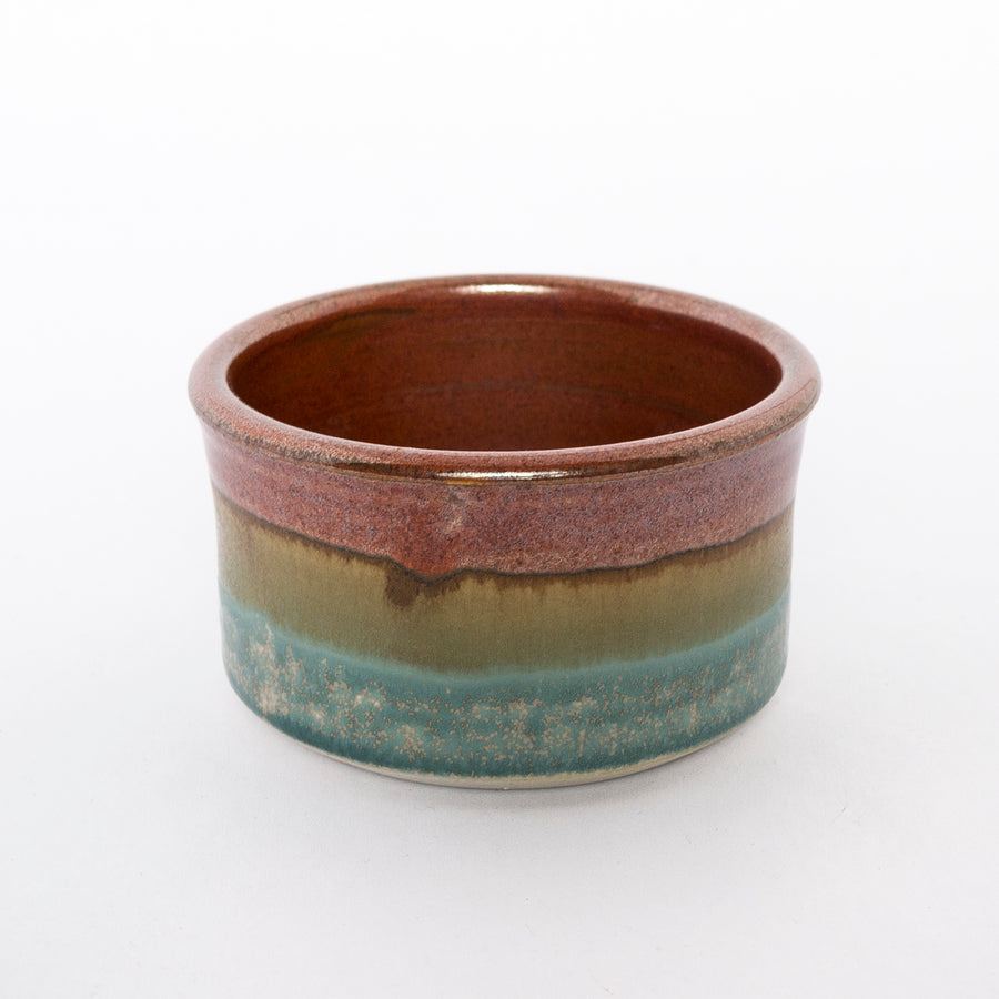 woodland ramekin - stoneware clay - durable pottery - handcrafted