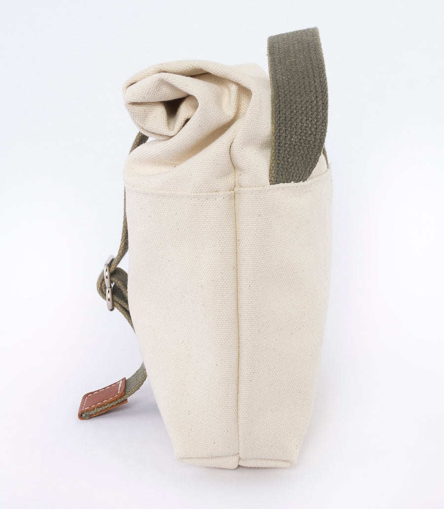 The Field Pouch - side view - Canvas Pouch made for everyday adventures