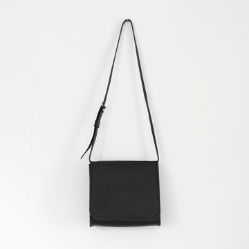 The Bloomsbury Saddle bag in Midnight - leather purse - small bag - cross body - over the shoulder - handmade in house