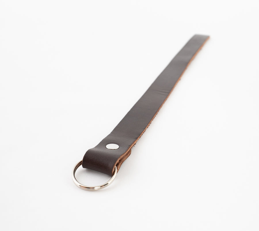 Leather Laniard Keyring - AKA the whip. Or whatever you deem fit for it.