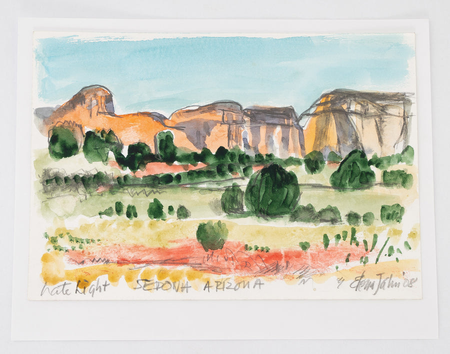 102 Watercolor Single Landscapes i - Elana Jahn
