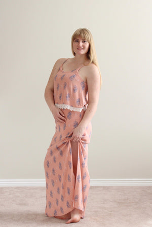 Juliette Dress (Peach)