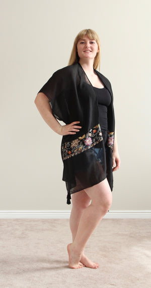 Missing You Kimono (Black)
