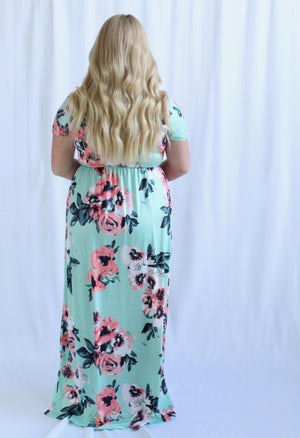 Madelyn Maxi Dress (Mint)