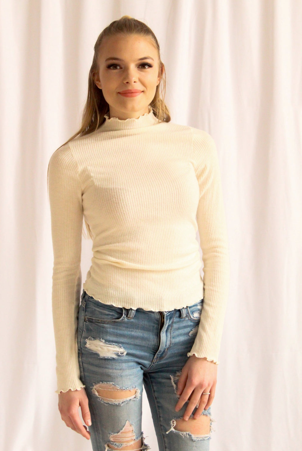 Lindon Top (Ivory)