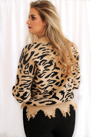 Wild & Free Sweater (Black)
