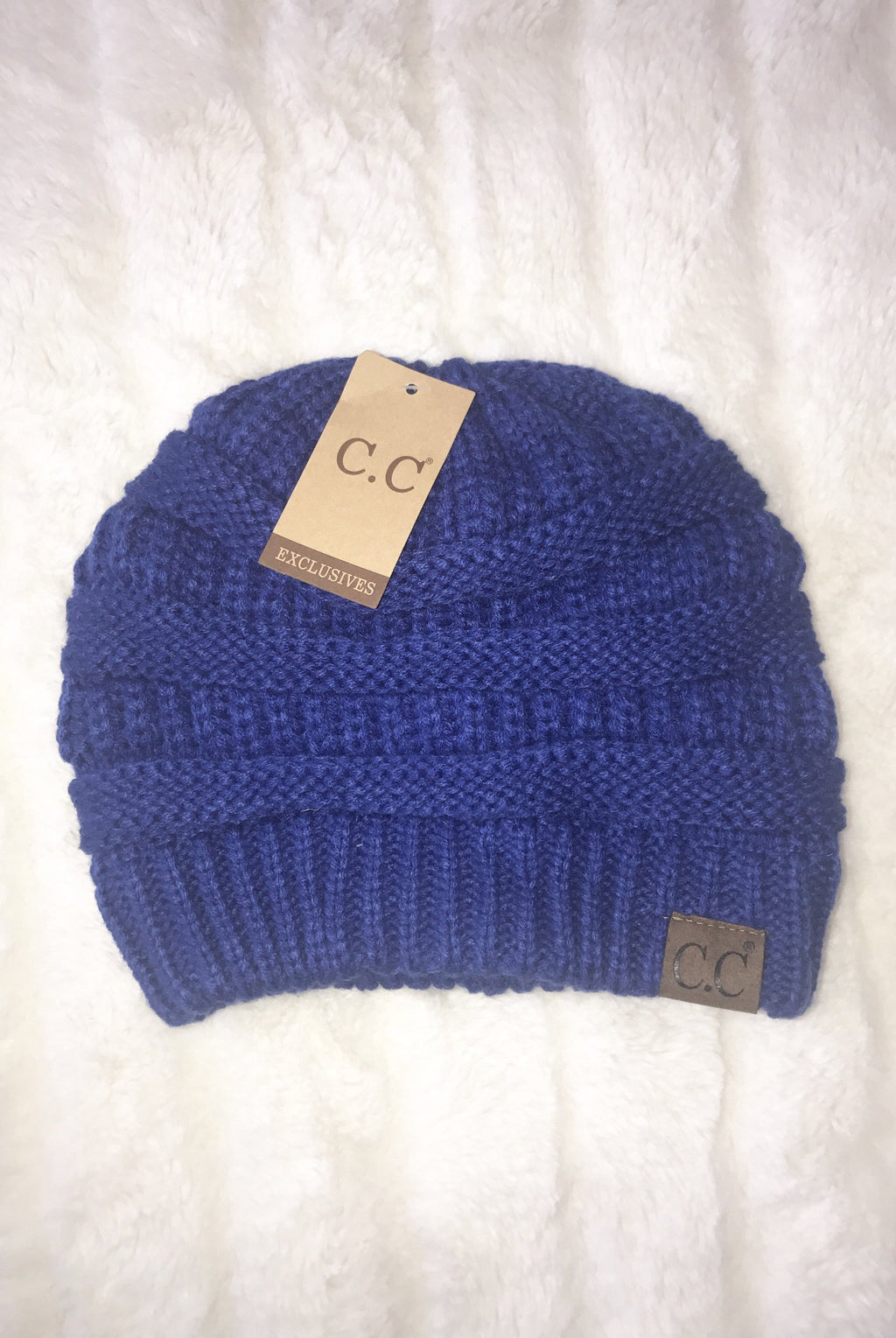C.C. Beanie (Royal Blue)