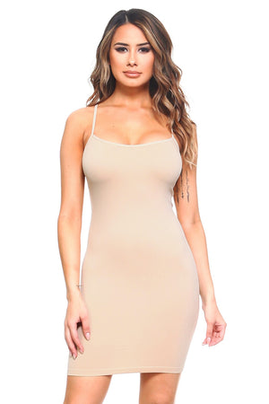 Stand Alone Dress Slip (Nude)