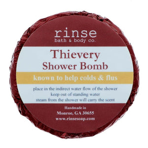 Rinse Bath Body Inc - Shower Bomb - Thievery