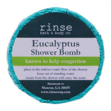 Rinse Bath Body Inc - Shower Bomb - Eucalyptus