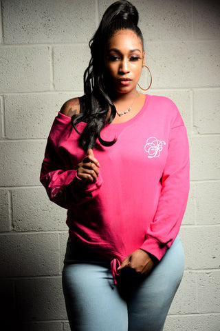 """Limited Edition"" Ladies Sweet Dream Wide Neck Sweatshirt"