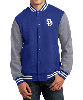 The Fleece Letterman Jacket
