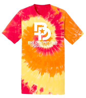 Youth Never Stop Tie-Dye Tee