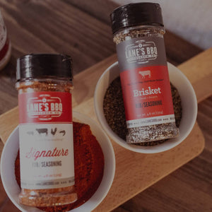 Handcrafted rubs by Lane's BBQ