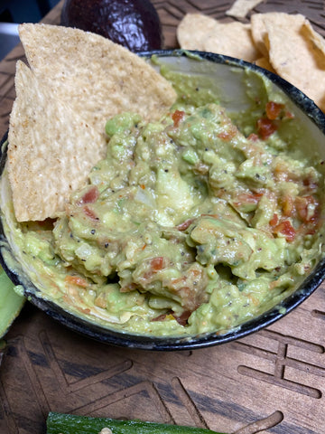Scorpion Guacamole with chip
