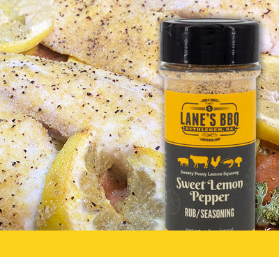 New Sweet Lemon Pepper Rub