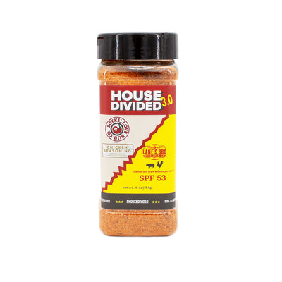 front view of 16 oz bottle HD3 seasoning