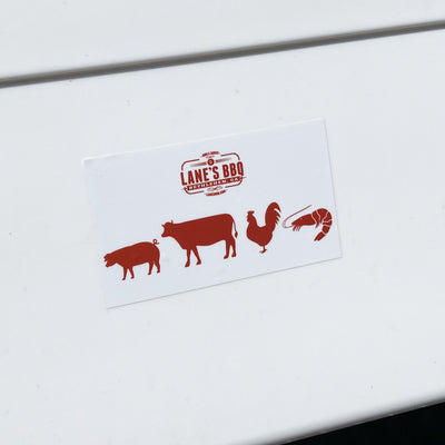 Animal Sticker on Cooler