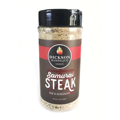 bottle of samurai steak rub