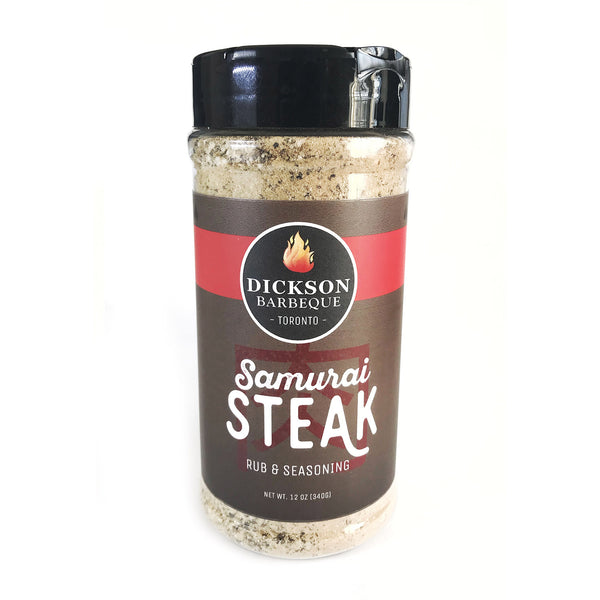Dickson Barbeque: Samurai Steak Rub & Seasoning