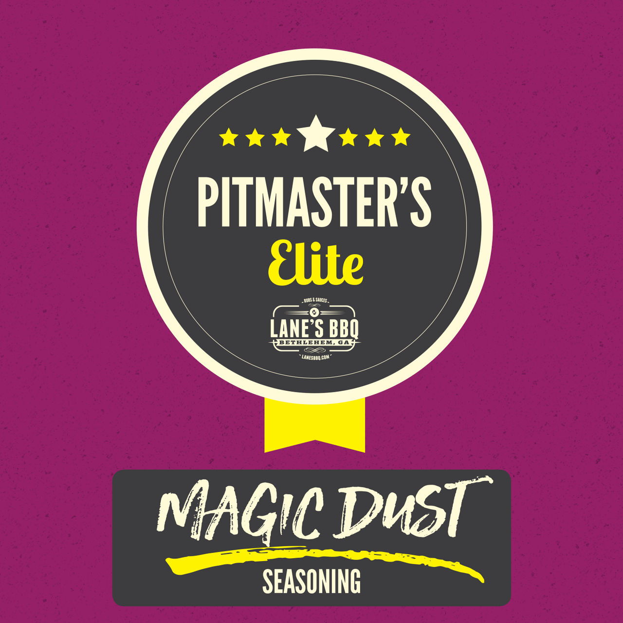 "Pitmasters Elite 2019 Reorder – Rub #2 ""Magic Dust"""
