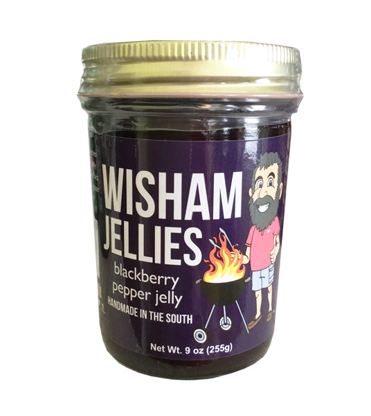 Wisham Jellies: Blackberry Pepper Jelly