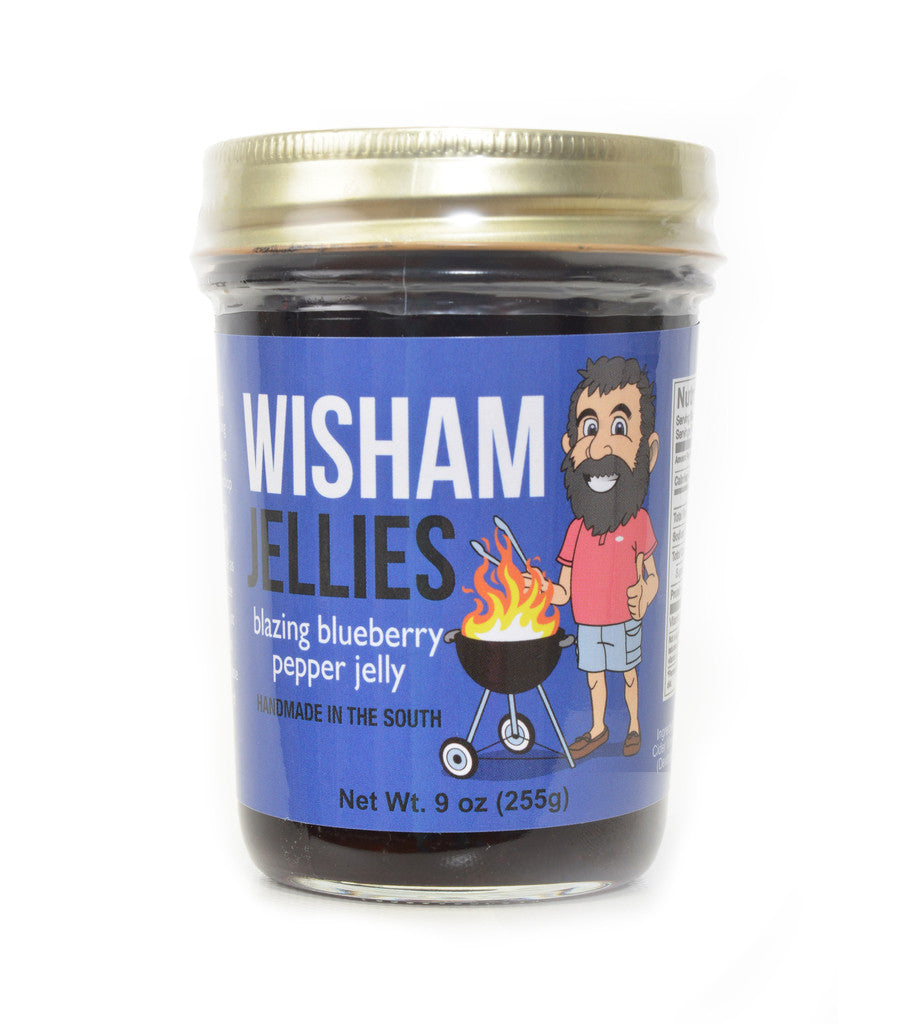Wisham Jellies: Blazing Blueberry Pepper Jelly