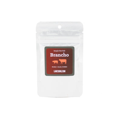 2 ounce sample bag of Brancho Rub
