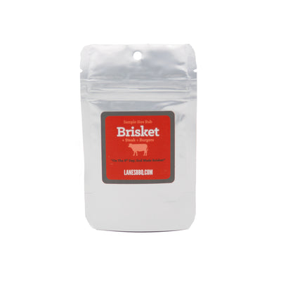 2 ounce sample bag of Brisket Rub