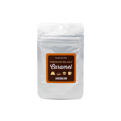 half ounce bag of chocolate caramel seasoning