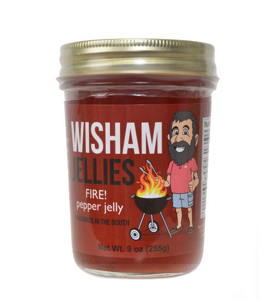 Wisham Jellies: Fire! Pepper Jelly